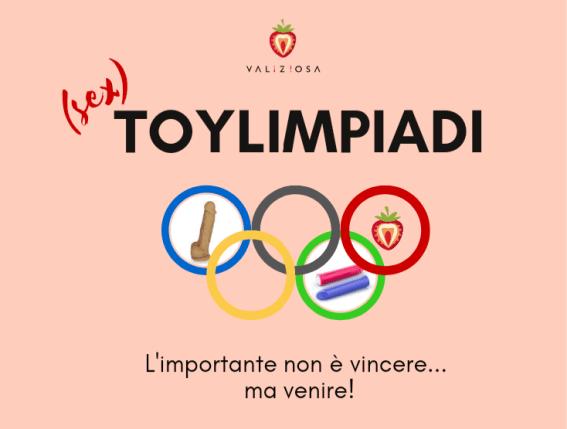 Le prime Toylimpiadi di Valiziosa, dove i sex toy si sfidano per conquistare il podio