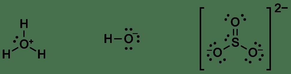 Lewisin kaavat: ionit
