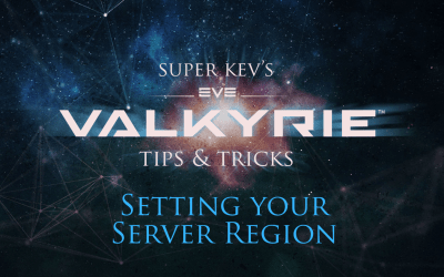 Changing your server region in EVE:Valkyrie