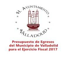 Presupuesto de Egresos del Municipio de Valladolid para el Ejercicio Fiscal 2017