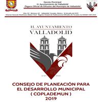 CONSEJO DE PLANEACIÓN PARA EL DESARROLLO MUNICIPAL ( COPLADEMUN ) 2019