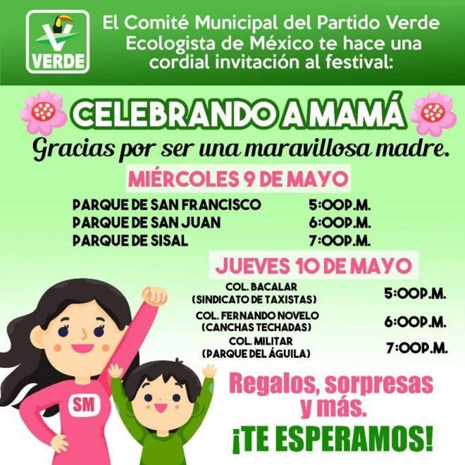 Celebrando a mamá