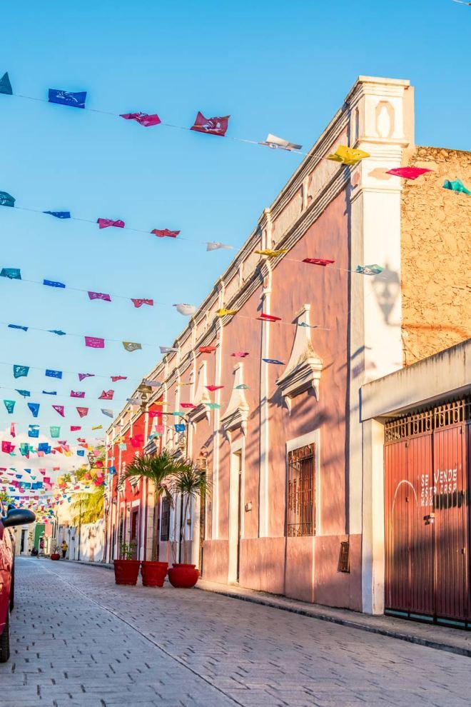 Calzada de los frailes de Valladolid Yucatán