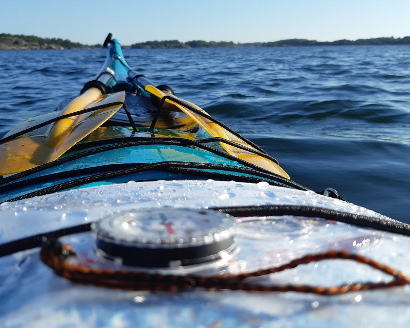 merimelonnan jatkokurssi NIL Sea Kayaker