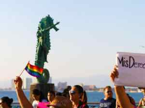 Gay March in Puerto Vallarta