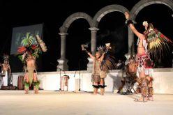Danza azteca, P. Vallarta, Malecon 3