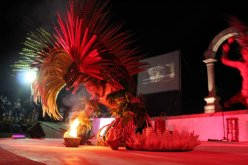 Danza azteca, P. Vallarta, Malecon 5