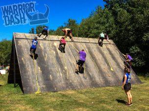 warrior-dash-2013-pennsylvania-pyramid-obstacle