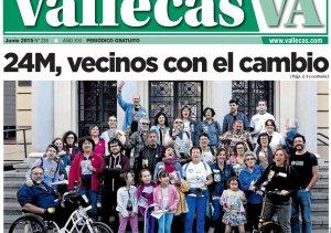 Portada Vallecas Va, junio 2015