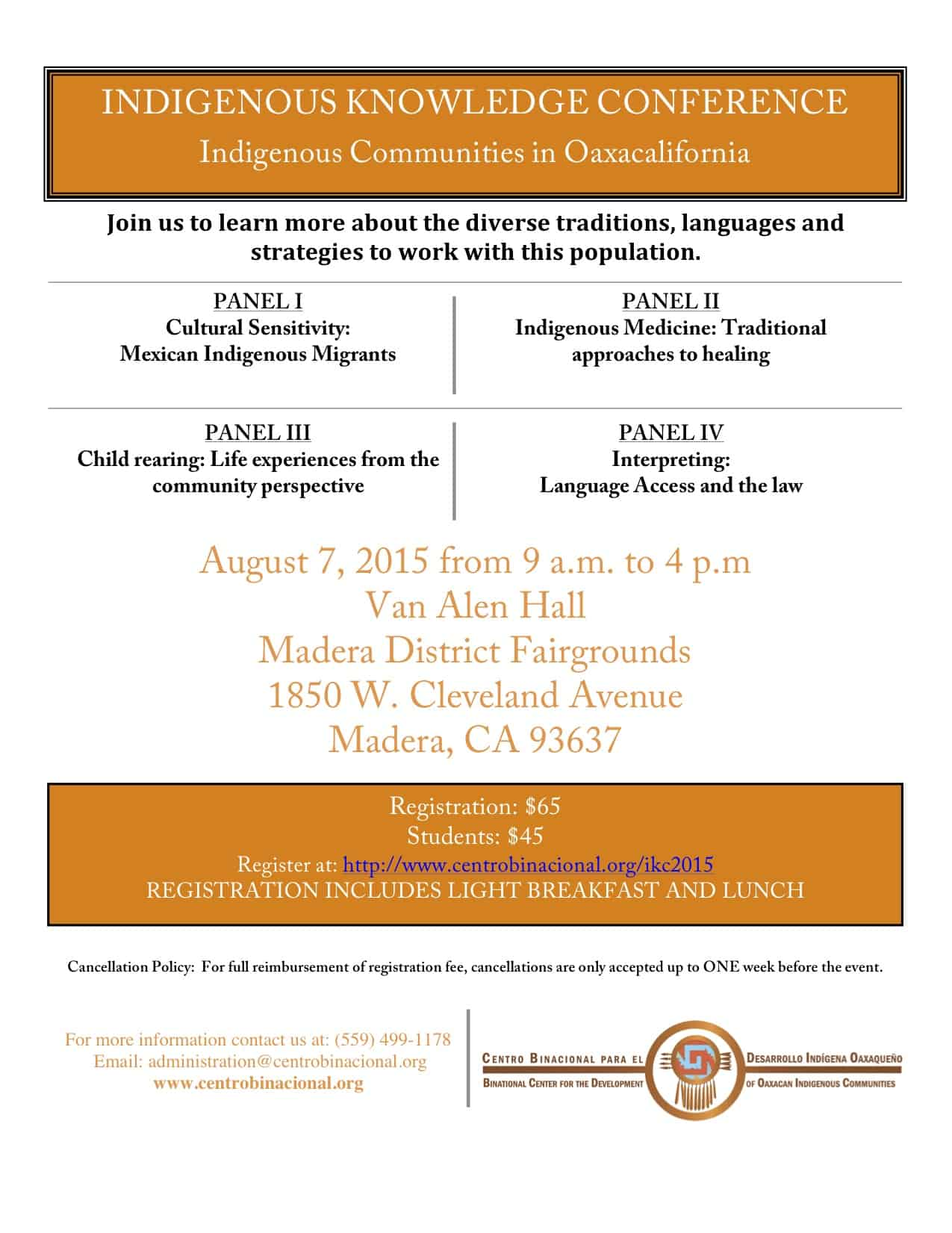 Indigenous Knowledge Conference Indigenous Communities in Oaxacalifornia, Madera California