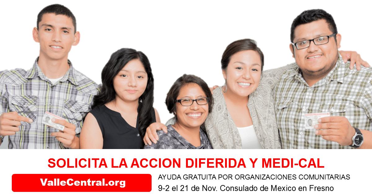 Taller de Accion Diferida y MediCal: 21 de Noviembre 2015, Consulado de Mexico en Fresno