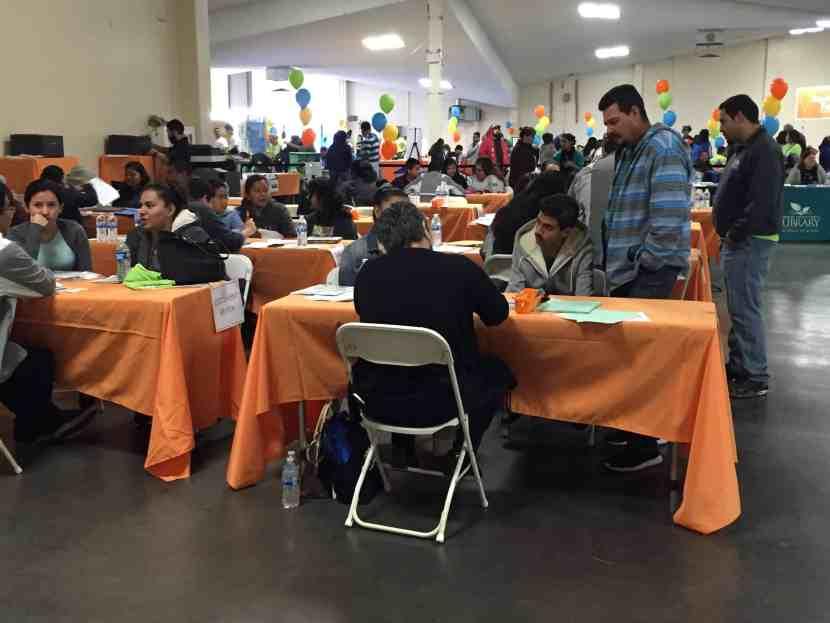 Feria de Inmigracion en Fresno 14 enero 2017