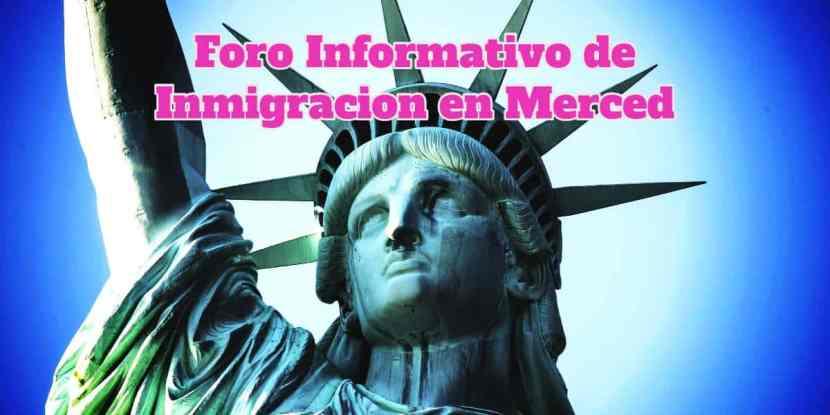 Foro Informativo de Inmigración en Merced 10 de Octubre 2018 CVIIC
