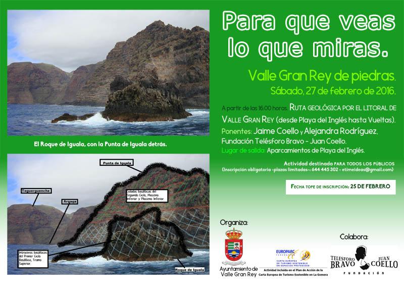 Cartel Geología Iguala