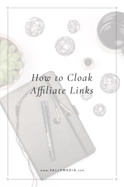 how to cloak affiliate links