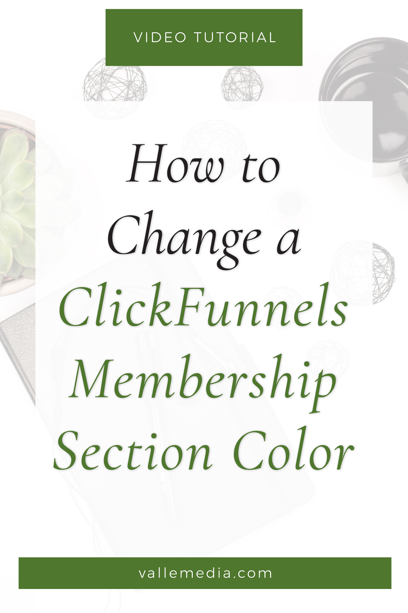 Step-by-step how to adjust the ClickFunnels membership section colors individually for a more on-brand look. Let's add a little personality to your learning area!