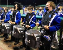 Bothell Drum line... I want Bryan's hair!