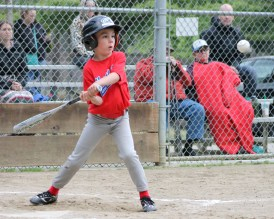 Cameron looking for the big hit.