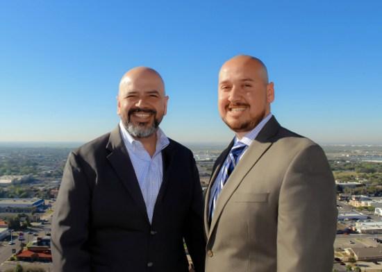 Brothers Samuel Maldonado, left, and Saul Maldonado, owners of SAM Engineering & Surveying Inc. (Courtesy photo)