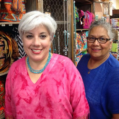 Owner Sandy Pena and longtime Arcy Rodriguez