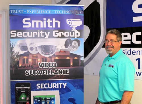 Daryl Smith owns and operates Smith Security Group in Weslaco. (VBR)