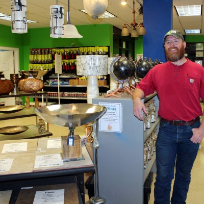 Nathan Pinkerton is director of Habitat for Humanity's ReStore operations in the Valley. (VBR)