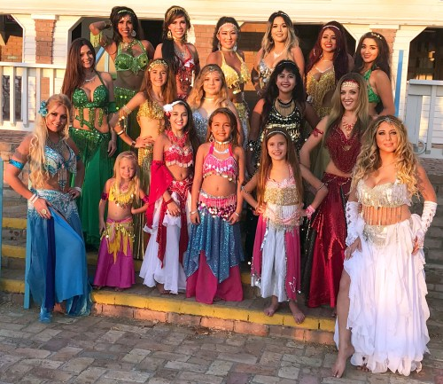 The Lobo Del Mar Dance Troupe performs an eclectic blend of international dances. (Courtesy)