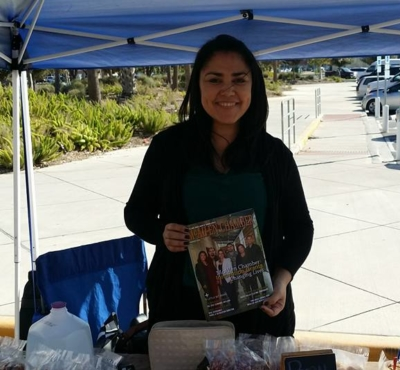 Elizabeth Davis of Nuts & Cows (photo McAllen Farmers Market)