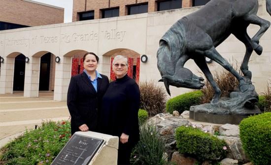 UTRGV Executive Education program instructors Zoila Zambrano and Elaine Hernandez  (Courtesy)