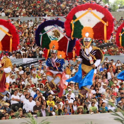 Mexican performers from Oaxaca will entertain festival crowds with traditional dances. (Courtesy)
