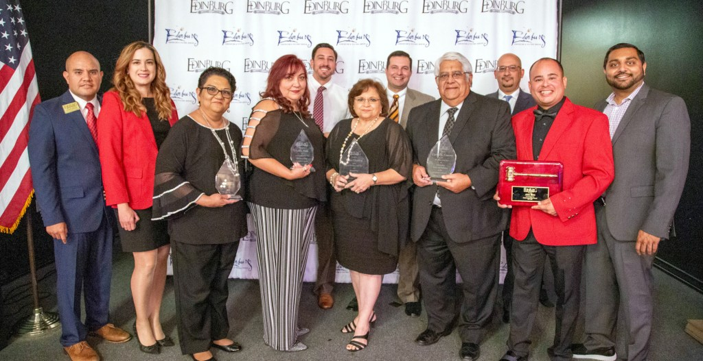 The Edinburg Chamber of Commerce recently held its87th annual Installation Banquet, recognizing community leaders with various awards.