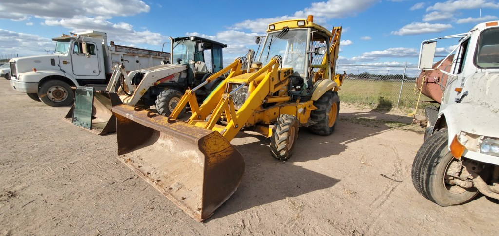 Samples of vehicles and heavy machinery available for surplus auction.