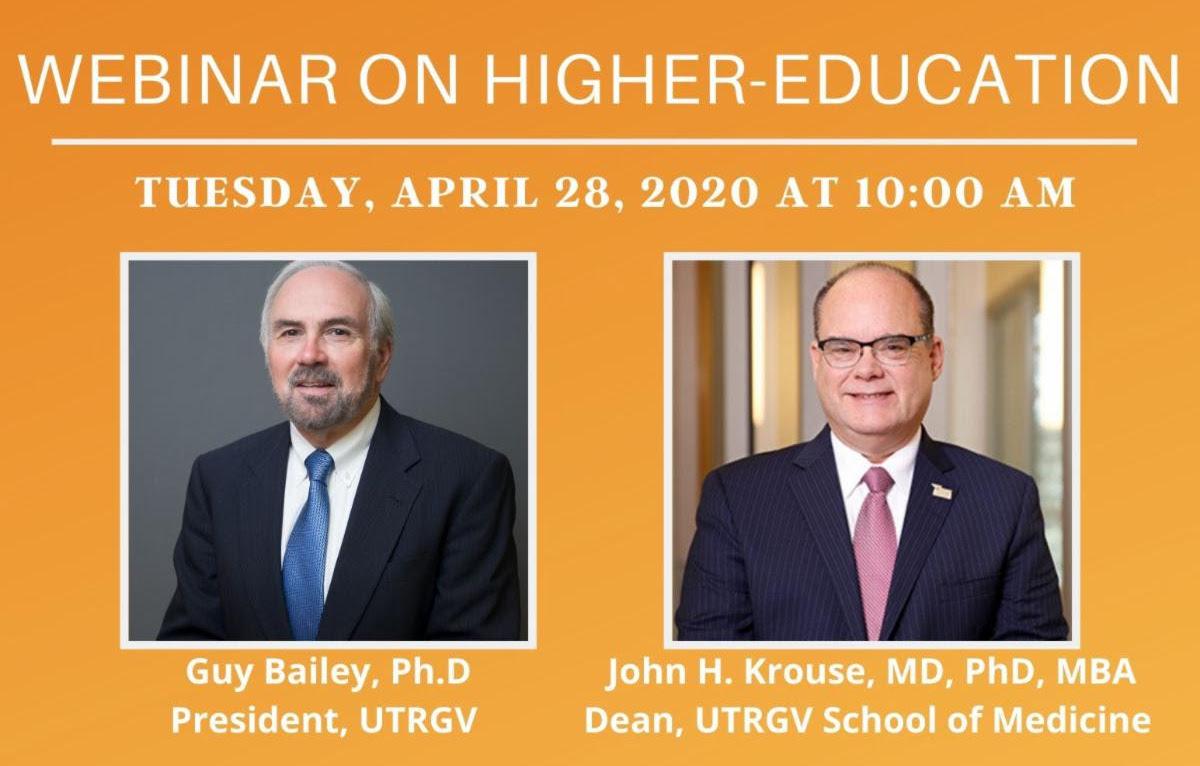 UTRGV higher education, COVID-19