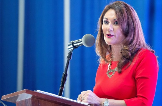 Former Rep. Verónica Gonzáles is one of seven members now on the board of directors for the newly-created Edinburg Economic Development Department. (photo Paul Chouy)
