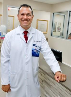 Dr. Eddy Berges at Knapp Medical Center in Weslaco. (Courtesy)