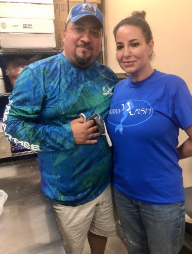 Mike and Rosa Mares work to provide Brownsville a fresh alternative at Skinny Fish.