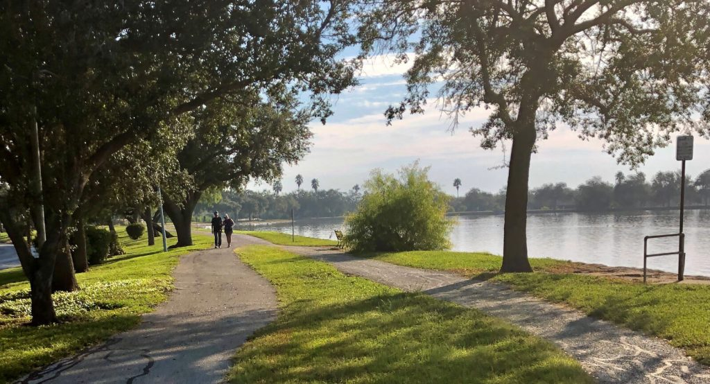 Harlingen's network of trails seeks to link parks, retail centers and the Texas State Technical College.