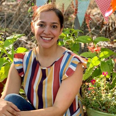 Yvonne Reyes, an occupational therapist, owns Sprouts Sensory Garden in Weslaco. (Courtesy)