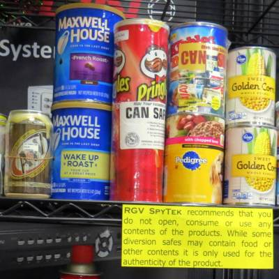 Though they appear to be common household items, each of these is actually a diversion safe.