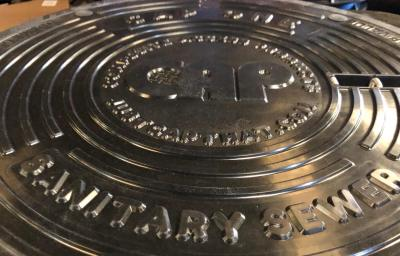 Manhole covers from the CAP plant in McAllen sell and ship to several cities in Texas.
