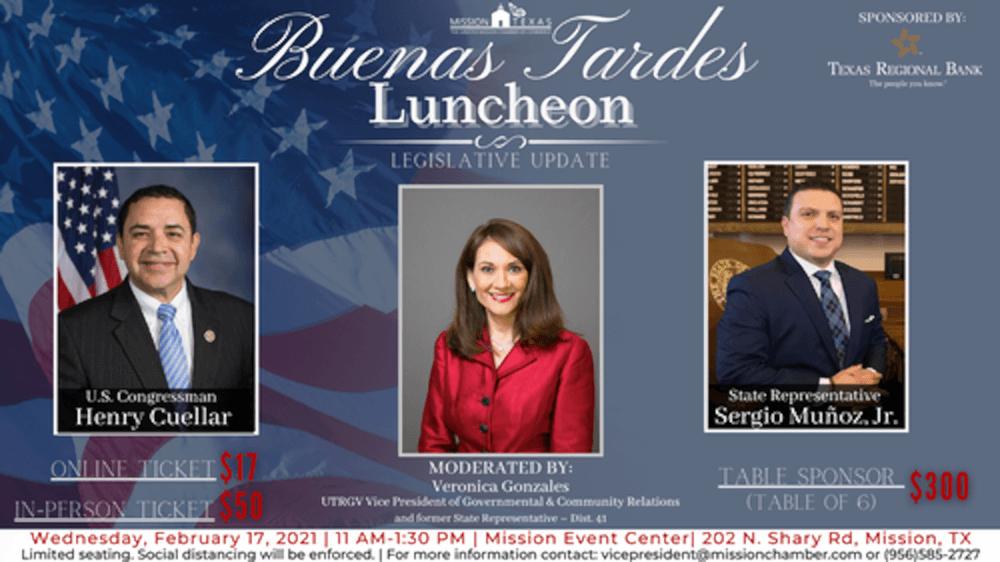 Buenas Tardes Luncheon, Feb. 21