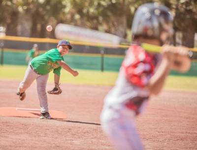 Boys' baseball is one sport that's part of youth events in McAllen. (Courtesy)