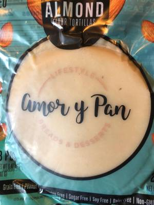 """Almond flour tortillas are the """"rock stars"""" at Amor y Pan."""