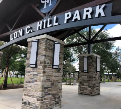 Renovations and a makeover of the Lon C. Hill Park make it a destination point in Harlingen.