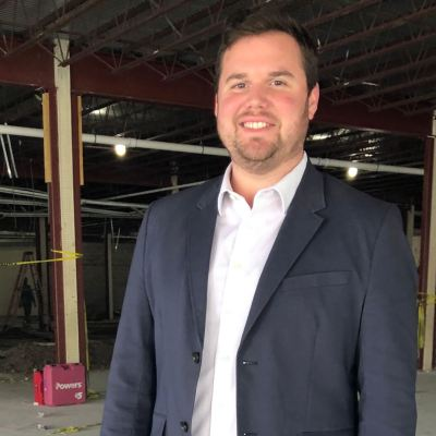 """Nathan Burkhart of the BCIC is helping to oversee the building of the new """"eBridge."""" (VBR)"""