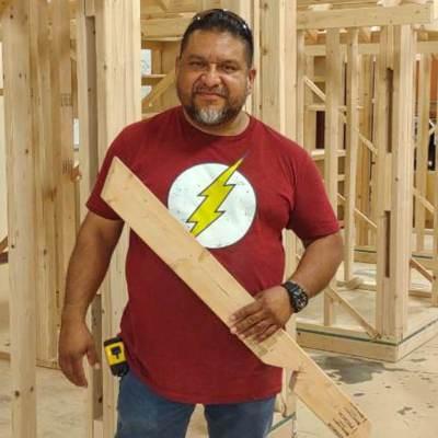 TSC's Construction Technology instructor Daniel Zuniga. (photo STC)