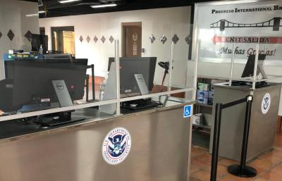 There are new facilities along with up-to-date technology at federal inspection stations at the Progreso Bridge.