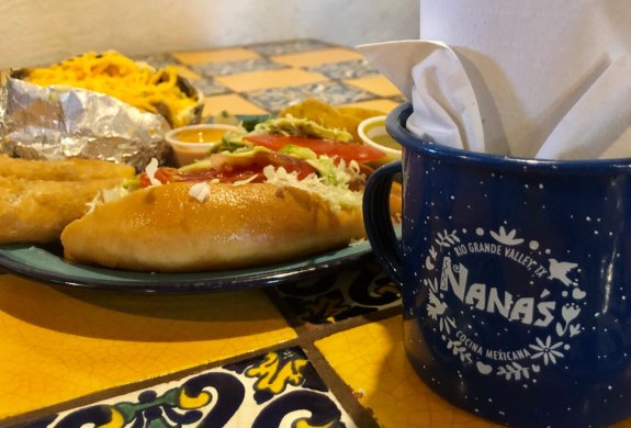 Lonches and other food items are fresh from Nana's kitchen in Weslaco.