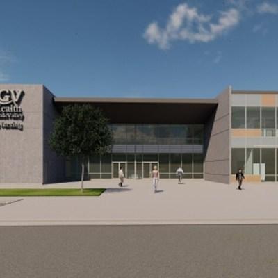 Rendering of the UTRGV School of Nursing facility in Pharr. (Courtesy City of Pharr)