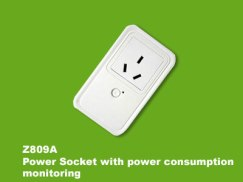 Z-809a-Power Socket with power consumption monitoring